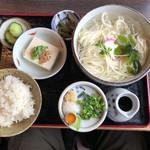 Tamanoya - 冷麦ランチ(830円)