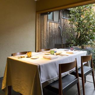 坪庭を擁する築150年の京町家をモダンにリノベーション