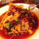 八木カレー - 野菜とベーコンのカレー
