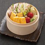 土古里 - 夏野菜と豚ミルフィーユ蒸し
