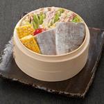 土古里 - 太刀魚と豚ミルフィーユ蒸し