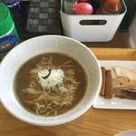 UMAMI SOUP Noodles 虹ソラ - 乳製品や山椒等の痺れも味変にオススメ