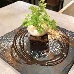 肉×野菜バル WTe - ガトーショコラ