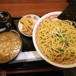 めん家 福みみ堂 - 濃厚煮干しつけ麺(大盛)