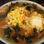 奈良屋 - 味噌バターコーンラーメン