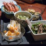 南方中華料理 南三 - 料理写真:2018.7 前菜盛り合わせ
