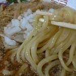88672155 - まさかの醤油太麺ストレート。