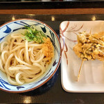 丸亀製麺 - ぶっかけ&舞茸天
