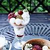 花論珈琲茶房 - 料理写真:【限定メニュー】ほうじ茶パフェ・抹茶のアフォガード