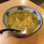 まことうどん - カレーうどん(700円)