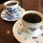 CAFE FACON - 友達のカップも素敵