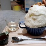 ほうせき箱 - 琥珀パールミルク氷