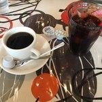 Stagione - ホットコーヒーとアイスコーヒー(ピッッアランチ、ドンナランチ)