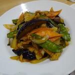 よ志乃 - 茄子の味噌炒め