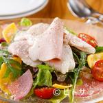 トラットリア ラ ロッカ - 豚肉の旨みと程よい塩加減が絶妙の『自家製プロシュートコット』