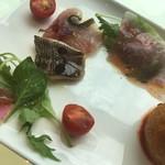 Vino&Ristorante CONNESSO - 前菜のアップ