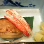 88688387 - 穴子と蟹の握り寿司