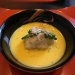 銀座 和久多 - 鱧の真薯 とうもろこし餡