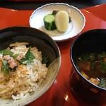 銀座 和久多 - 新生姜ご飯