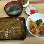 河金 - 「河金丼ロースかつ重」1,100円