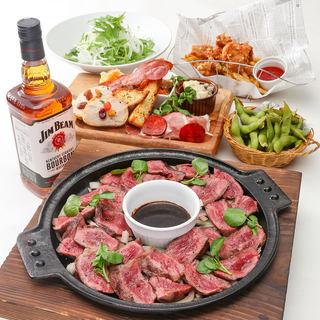 【梅田マルビルB2】駅近で便利な肉バル!