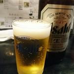 鳥まさ - 瓶ビール\570