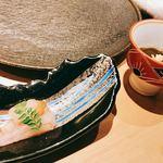鮨 おちあい - ○ボタン海老漬け もずく酢様