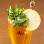 眞好味 - ドリンク写真:パクチービール430円。