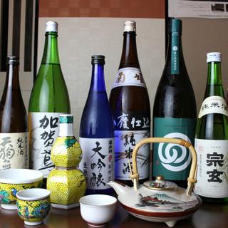 ~日本酒の会加盟店~全38蔵の銘酒を味わい、酔いしれる時。