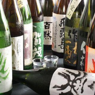 日本酒を多数ご用意