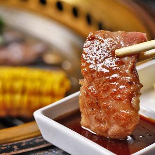 【焼肉食べ放題コース】個室で肉宴会!飲み放題付3,500円~