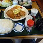 あすか - 唐揚げ&アジフライ,990円