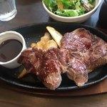 肉バル style 2 - 牛肩ロースステーキレギュラー1000円