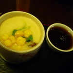 ダイニングカフェまき - 茶碗蒸しとコーヒーゼリー