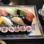 芝勝寿司 - にぎり(雅)\1620