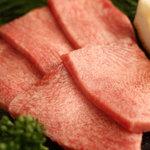炭火焼肉 なかむら  - 『上タン』 タンの根元を贅沢に厚切り。数量限定です!