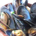 マンジャ ペッシェ - 料理写真:ムール貝の白ワイン蒸し
