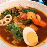 88701275 - とり野菜のスープカレー 1380円