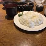 88702967 - ご飯&スープ