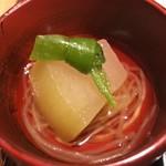 天ぷら天美巧 - 愛知県産冬瓜、金糸瓜の冷静煮浸し