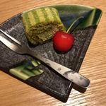 天ぷら天美巧 - ロールケーキ