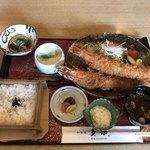 多楽 - 大海老御膳2190円+税