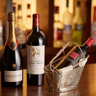イタリアを中心としたワインがお楽しみいただけます!