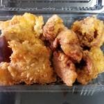 食彩たまな - 料理写真:ザンギ二種盛り