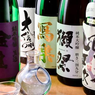 日本酒の取り扱いは久留米一☆