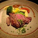 伊のマタギ - 鹿フィレ肉の炉端焼き(数量限定)
