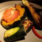 伊のマタギ - 炉端焼き野菜の盛り合わせ