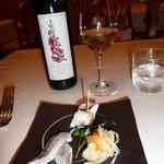 トラットリア・アルベロ - ワインのラべルも美しい♪美味しい♪