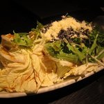 伊のマタギ - 白菜と水菜のマタギサラダ