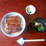 石翁 - 上うなぎ丼2150円